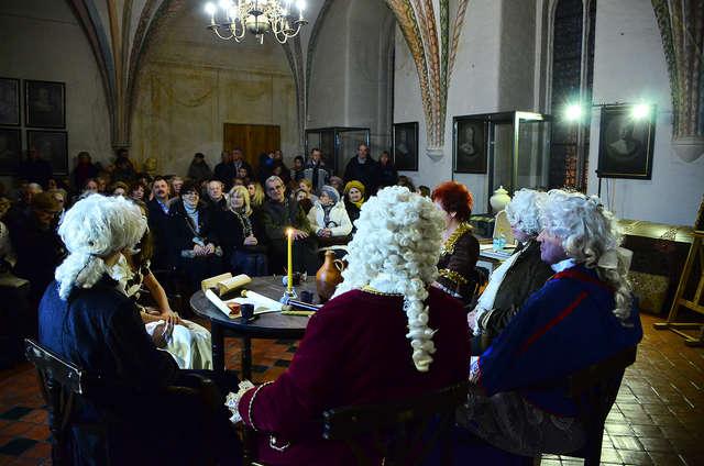 Z wizytą urodzinową u biskupa Ignacego Krasickiego - Relacja - full image