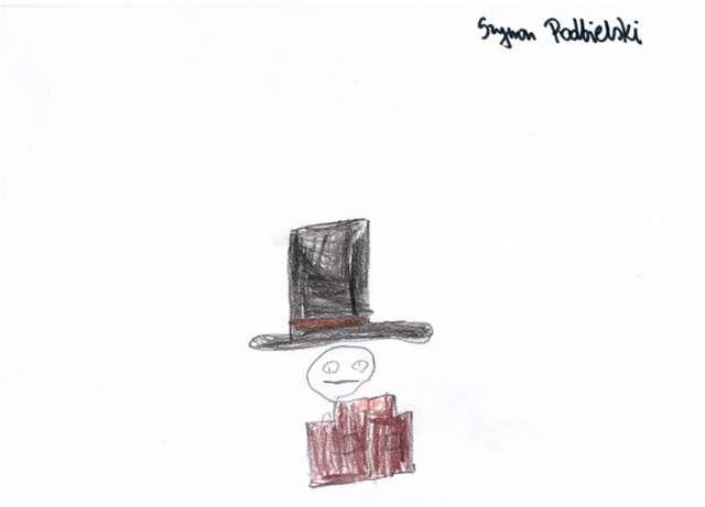 Wystawa pt. Skarbonki i portmonetki widziana oczami najmłodszych miłośników sztuki z Przedszkola Kubuś z Mrągowa.  - full image