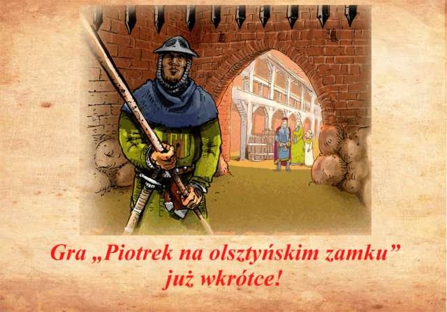 Gra Piotrek na olsztyńskim zamku - full image