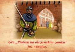 Gra Piotrek na olsztyńskim zamku