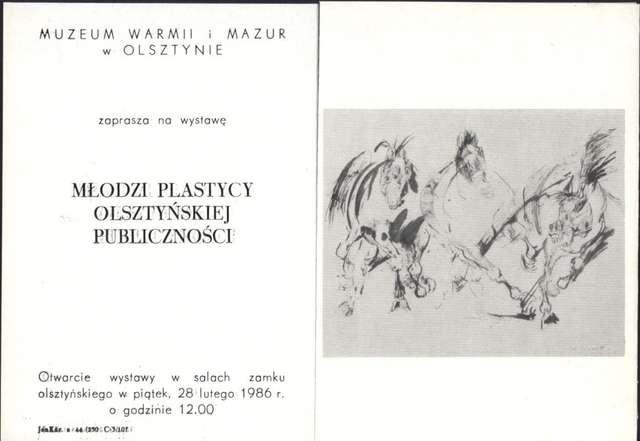Wystawa – Młodzi plastycy olsztyńskiej publiczności - full image