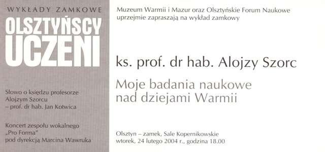 """Wieczór zamkowy – cykl """"Życiorysy"""" (Jerzy Burski) - full image"""