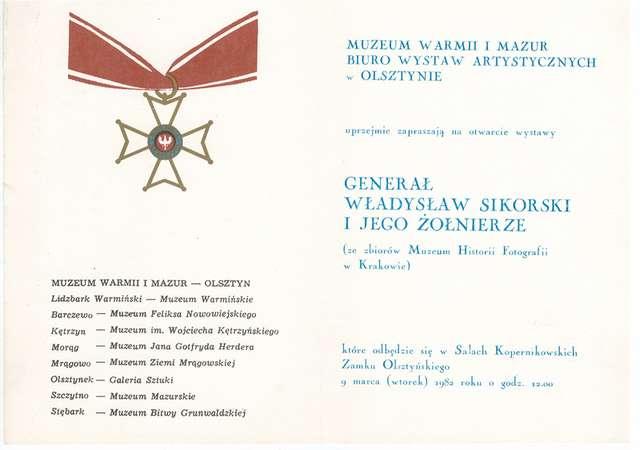 Wystawa – Generał Władysław Sikorski i jego żołnierze - full image