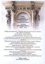 Pokaz muzealiów zakonserwowanych, zakupionych i ofiarowanych w 2012 r.