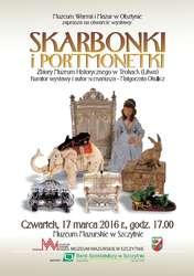 Skarbonki i portmonetki ze zbiorów Muzeum Historycznego w Trokach - wystawa czasowa.