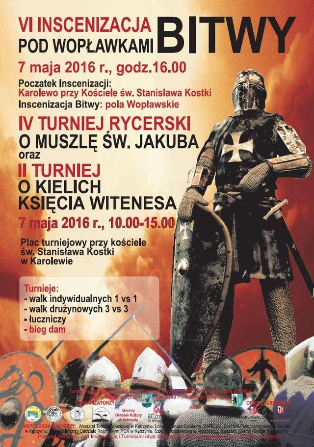 VI inscenizacja bitwy pod Wopławkami - full image