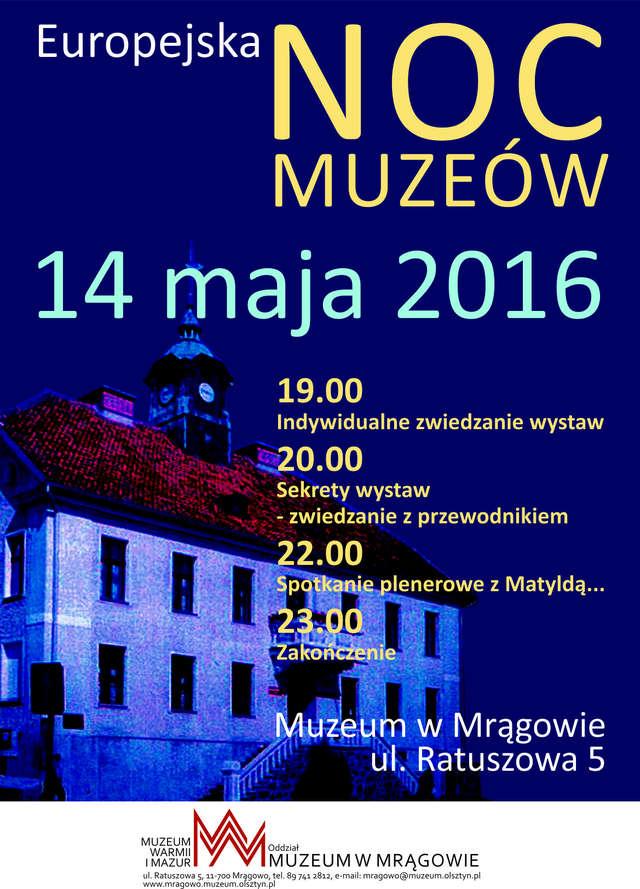 Europejska Noc Muzeów w Muzeum w Mrągowie  - full image
