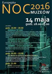 Europejska Noc Muzeów w Galerii Zamek w Reszlu