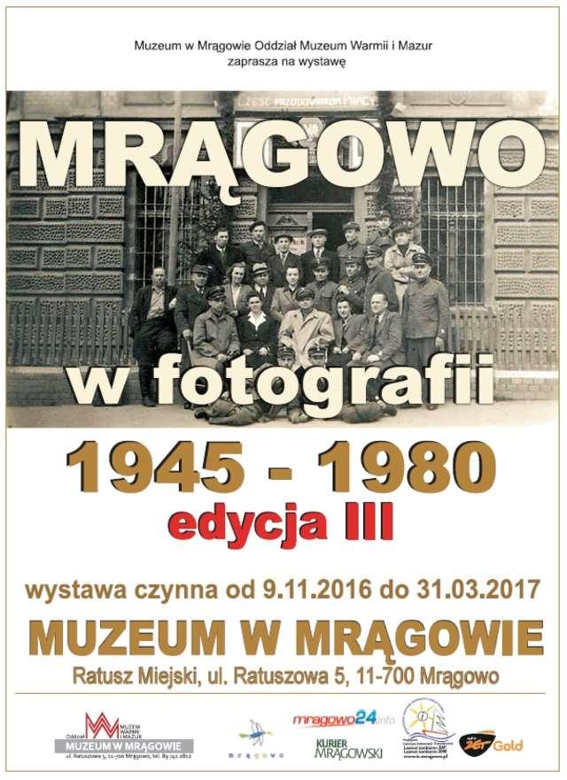 Otwarcie wystawy pt. Mrągowo w fotografii 1945-80. Edycja III - full image