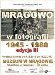 Otwarcie wystawy pt. Mrągowo w fotografii 1945-80. Edycja III - Relacja