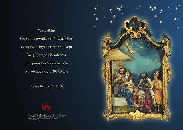 Dziś, 23 grudnia, Muzeum Warmii i Mazur w Olsztynie (zamek) czynne do godziny 14.00.  - full image