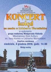 Koncert kolęd w lidzbarskim zamku - Relacja