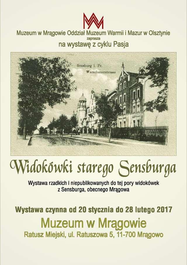 Widokówki starego Sensburga - full image