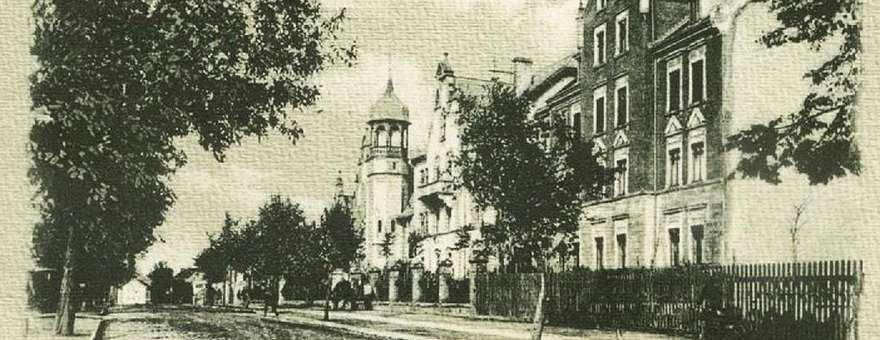 Widokówki starego Sensburga