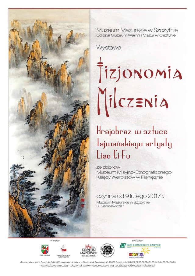 Fizjonomia Milczenia. Krajobraz w sztuce tajwańskiego artysty Liao Ci Fu - full image