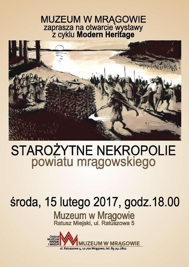 Starożytne nekropolie powiatu mrągowskiego - full image
