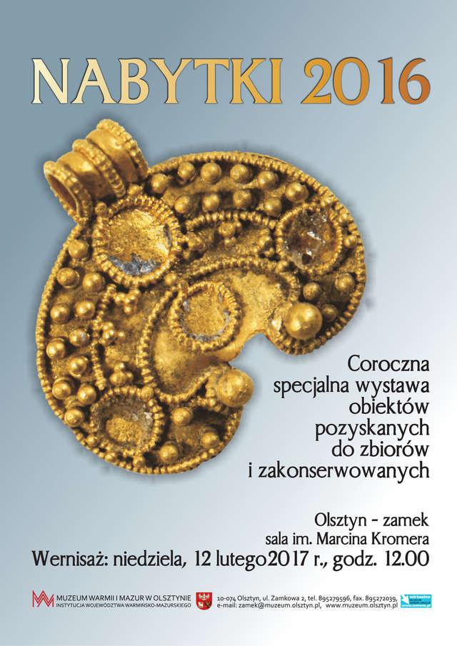 Nabytki i konserwacje 2016 - full image