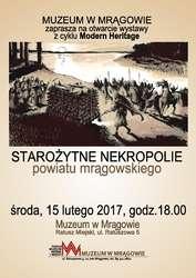 Starożytne nekropolie powiatu mrągowskiego