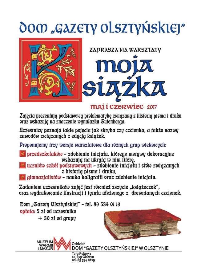 """Warsztaty """"Moja książka"""" - full image"""