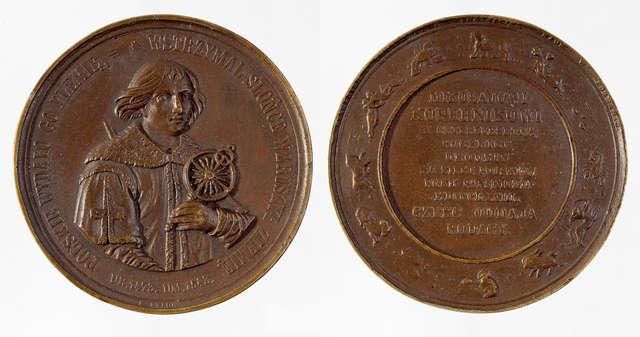 Mikołaj Kopernik w sztuce medalierskiej - full image