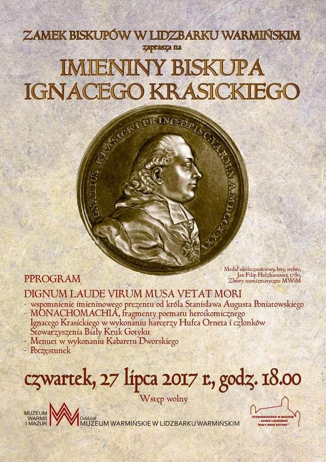 Imieniny biskupa Ignacego Krasickiego - full image