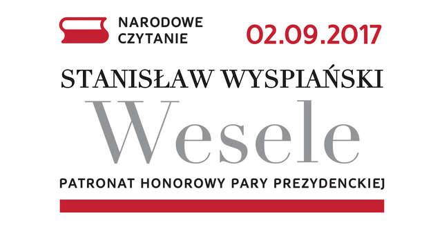 """Czytanie """"Wesela"""" - full image"""