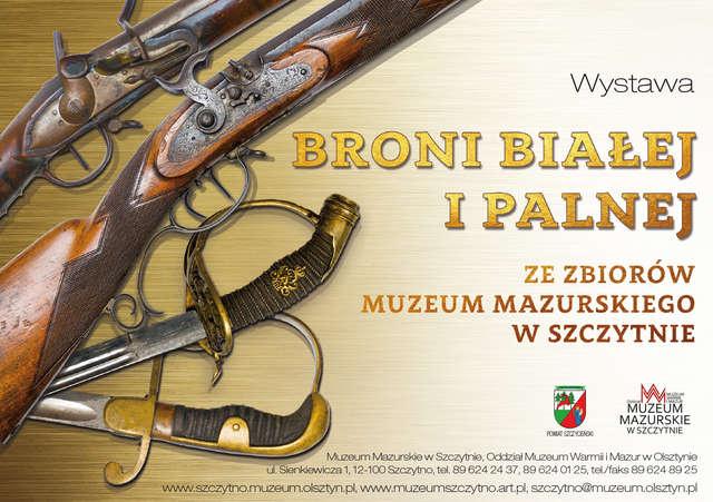 Wystawa broni białej i palnej z XVIII-XX wieku - full image