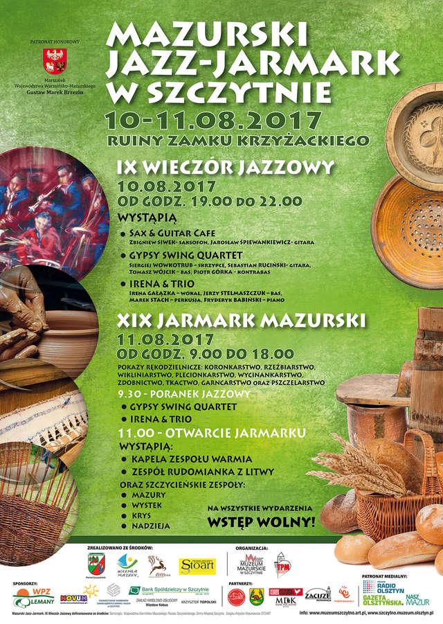 MAZURSKI JAZZ-JARMARK. XIX Jarmark Mazurski w Szczytnie - full image