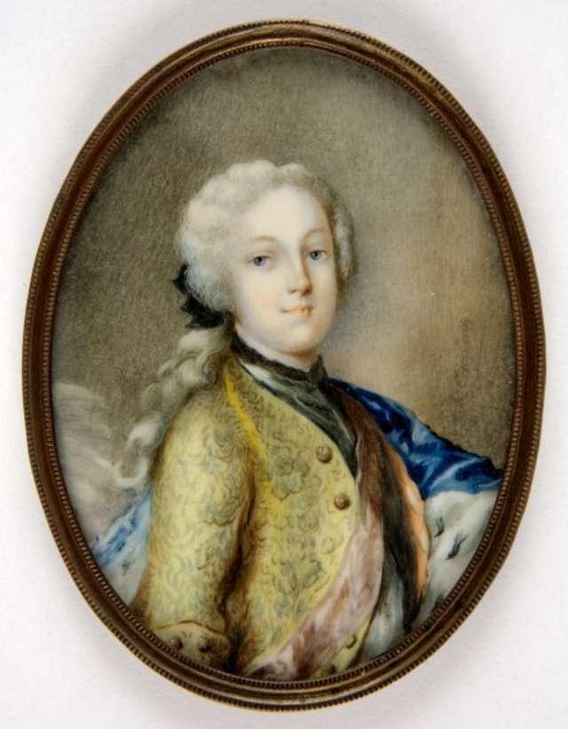 Portret Fryderyka Krystiana z dynastii Wettinów  - full image