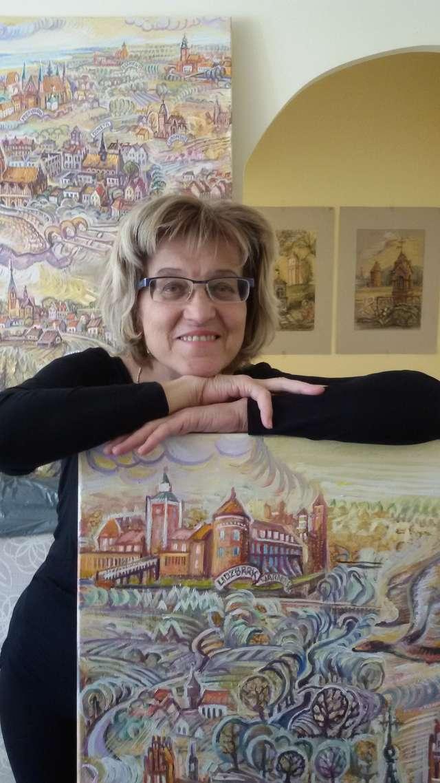 Malarstwo Anastazji Fietisowej. Bajkowa Warmia  - full image