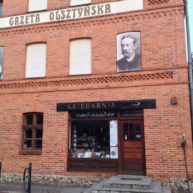 """Dom """"Gazety Olsztyńskiej"""" - księgarnia - full image"""