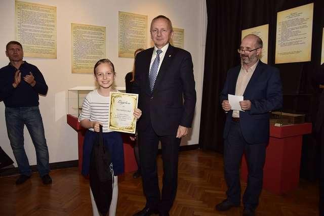 Maja Dąbkowska laureatka konkursu - full image