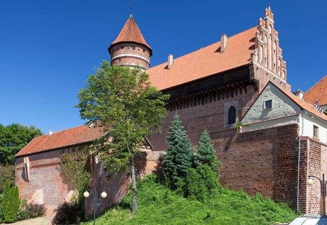 Zamek kapituły warmińskiej w Olsztynie - full image