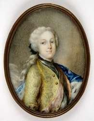Portret Fryderyka Krystiana z dynastii Wettinów
