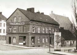 """Budynek """"Gazety Olsztyńskiej"""", lata 30. XX wieku"""
