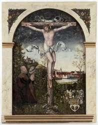 Epitafium Hansa Nymptscha (1476-1556) z przedstawieniem Chrystusa Ukrzyżowanego