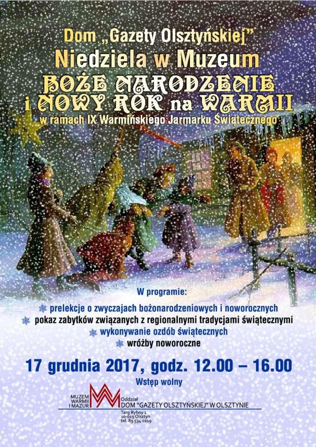 Boże Narodzenie i Nowy Rok na Warmii  - full image