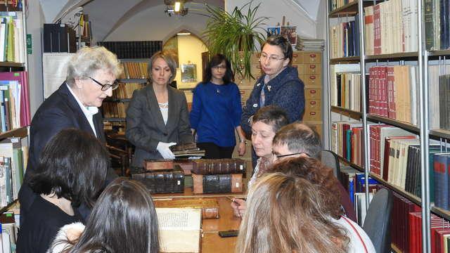 Naukowcy z Nowosybirska w Muzeum - full image