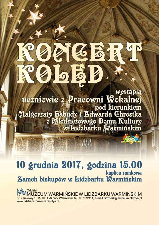 Koncert kolęd w kaplicy zamkowej - full image