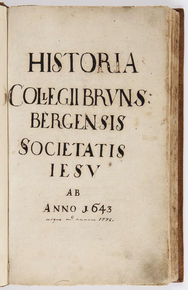 Kronika Kolegium w Braniewie - full image