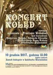 Koncert kolęd w kaplicy zamkowej