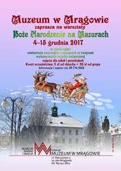 warsztaty przedświąteczne - Muzeum w Mrągowie
