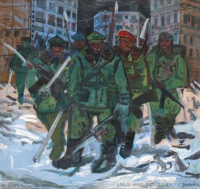 Mróz minus piętnaście i stan wojenny - full image