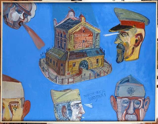 Wątki historyczne w twórczości Edwarda Dwurnika - full image