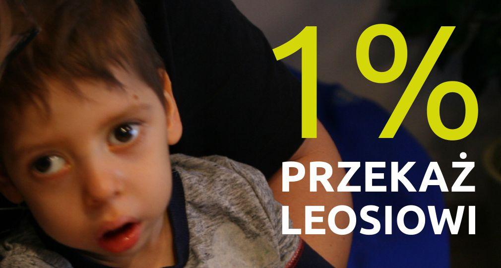 Przekaż 1% Leosiowi Jasko