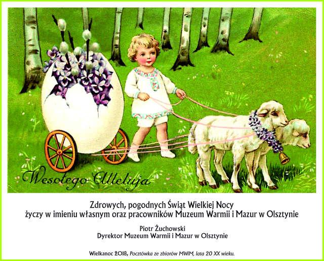 Zdrowych i pogodnych Świąt Wielkanocnych  - full image