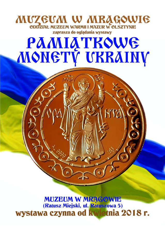 Pamiątkowe monety Ukrainy - full image