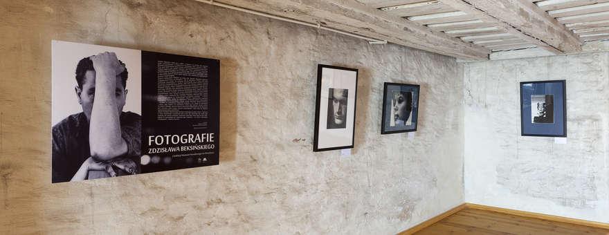 Wystawa - Fotografie Beksińskiego w lidzbarskim zamku