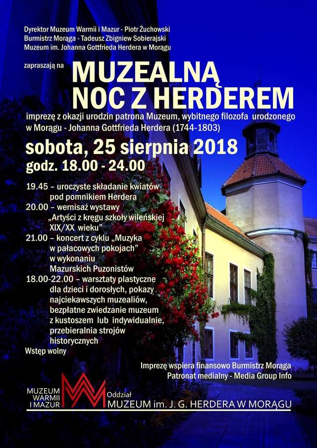 Muzealna Noc z Herderem  - full image