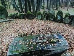 Cmentarz w Markowie. Fot. J. Sztorc